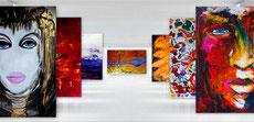 Stammkunden Rabatt 12 % auf alle XXL Gemälde im Shop !