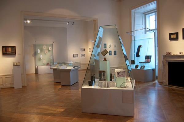 Eliana Bürgin | Ausstellungsansicht, Literatur Museum Petöfi, Budapest, Ungarn | 2011
