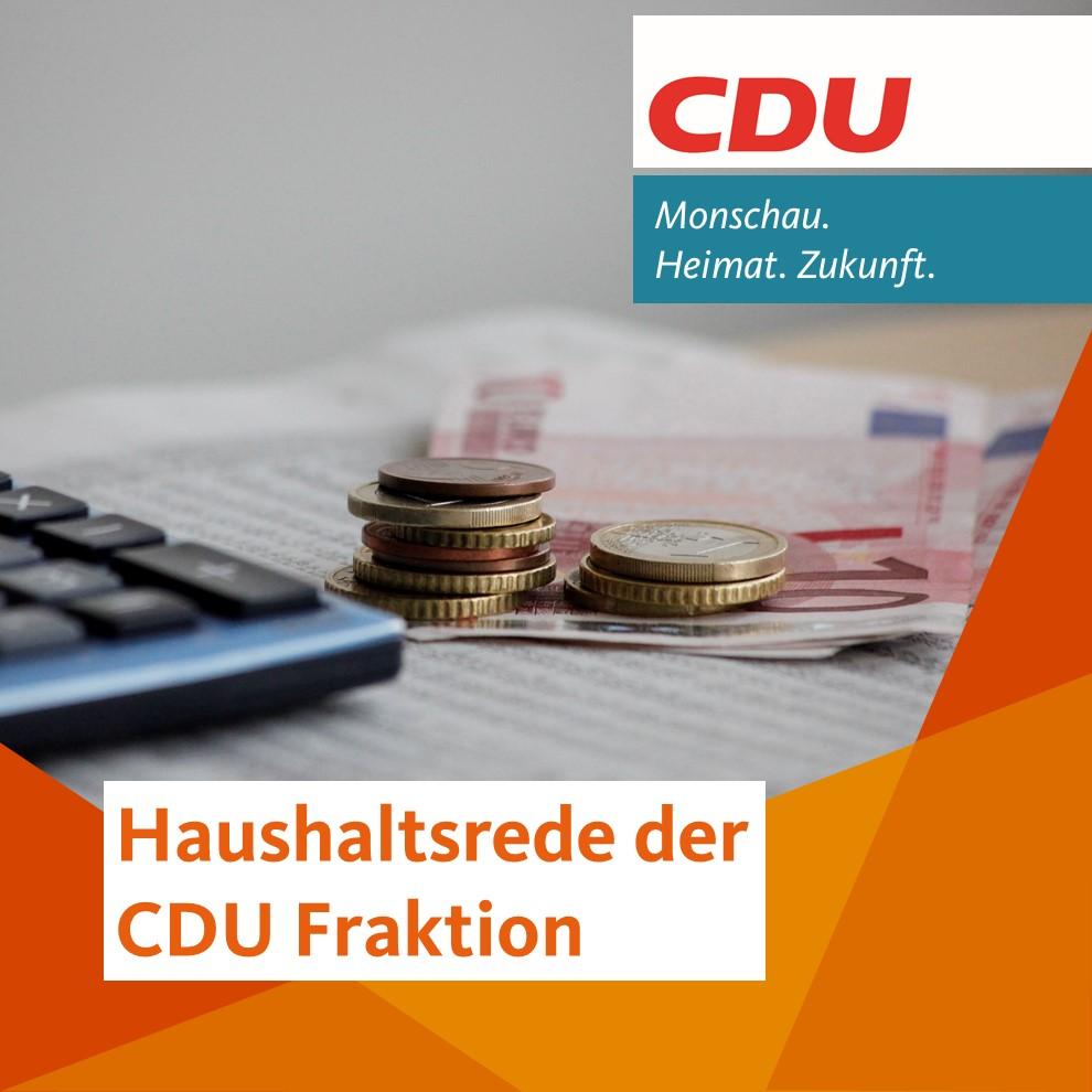 Haushaltsrede 2021