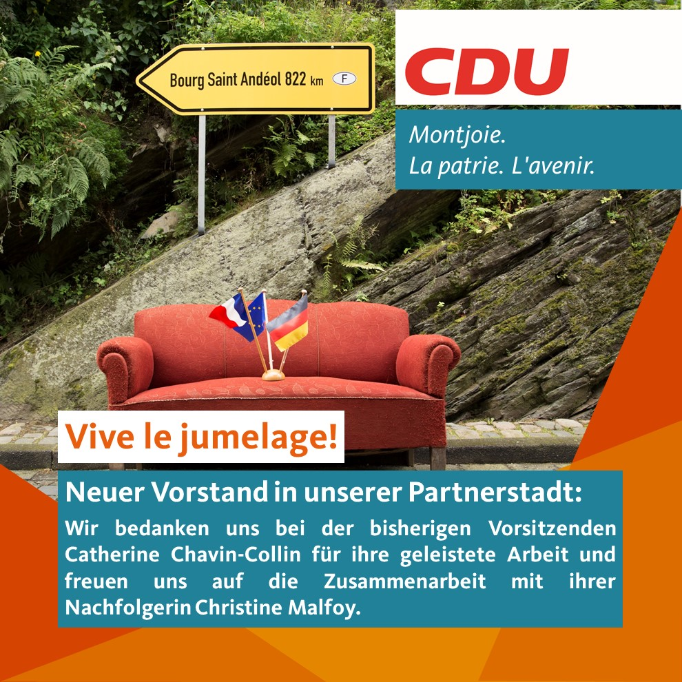 Partnerstadt Bourg St. Andeol