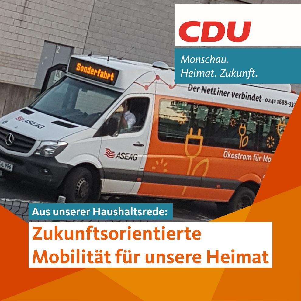 Zukunftsorientierte Mobilität für unsere Heimat