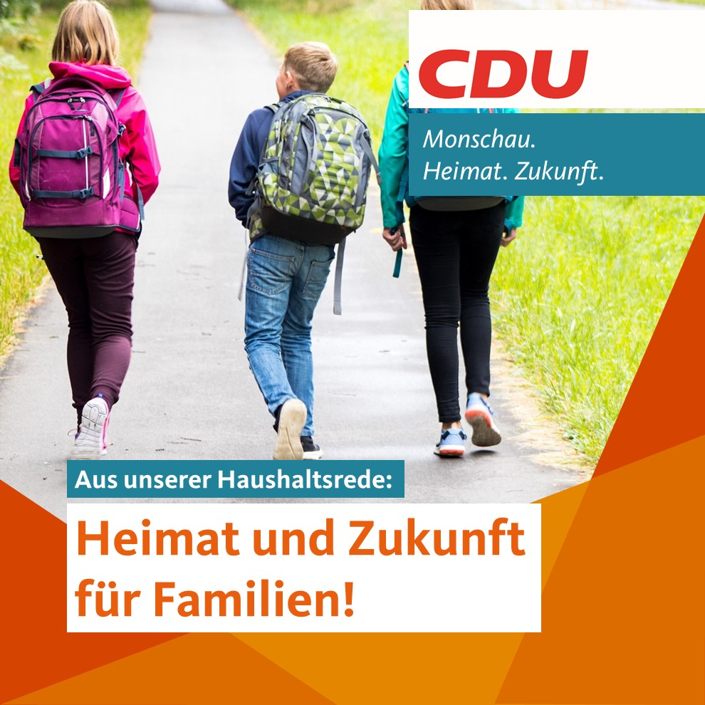 Heimat und Zukunft für Familien!