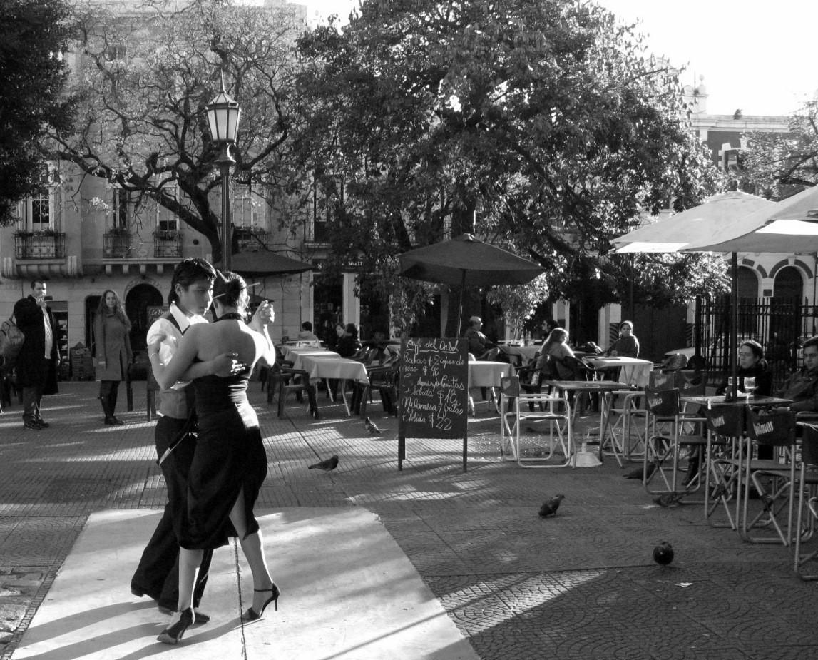 Tango Argentino in der Straße