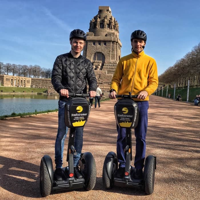 Discover Leipzig on the Segway