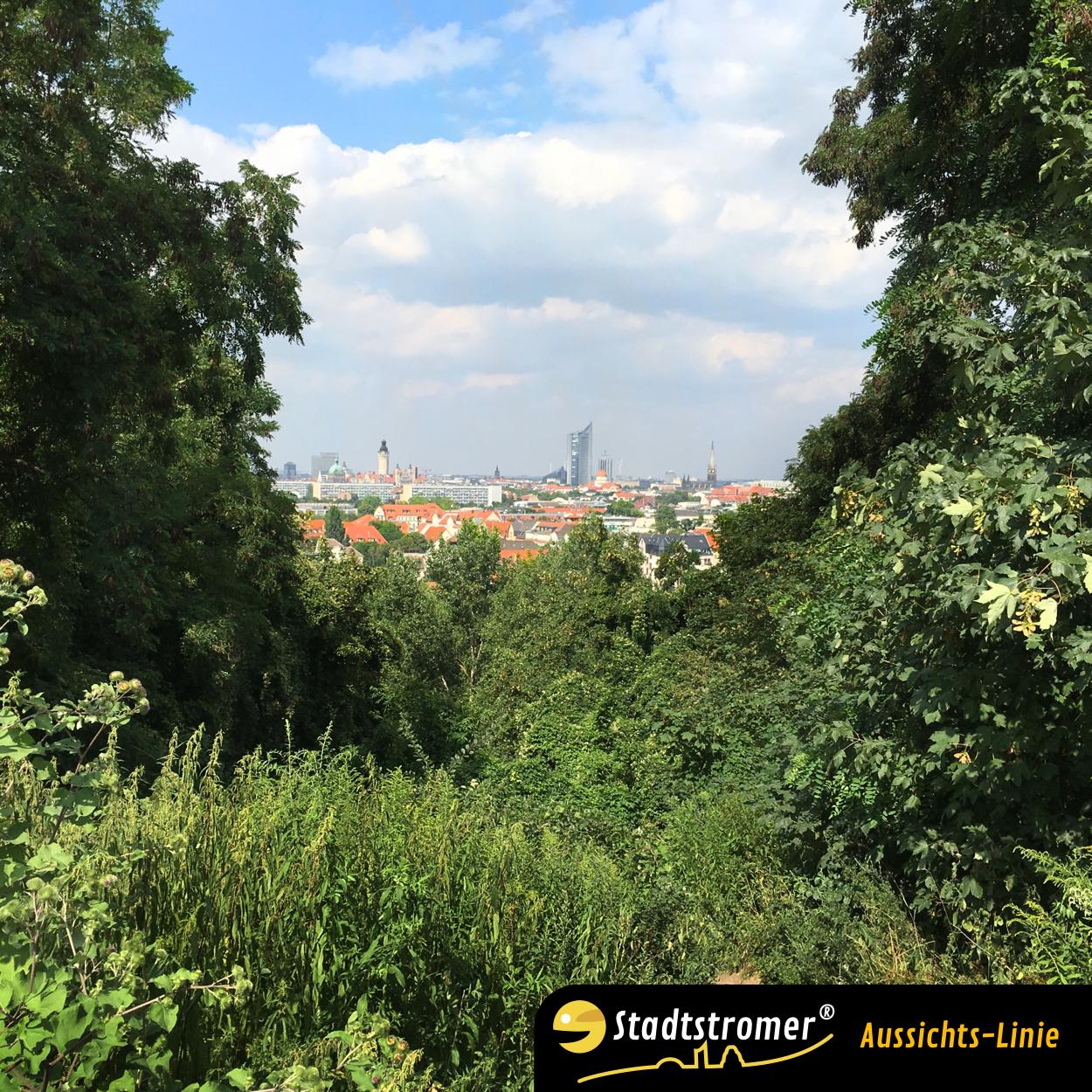 Aussicht Fockeberg Richtung Innenstadt
