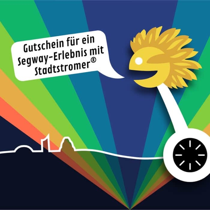 Gutschein für ein besonderes Geschenk: Stadtstromer Segway Fahren und Stadtrundgänge in Leipzig