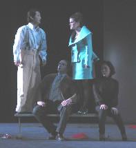 Quatuor (Eun Seok Jang, Ivan Tursik, Stéphanie Pothier, Mincho Kim) : Mentitore!