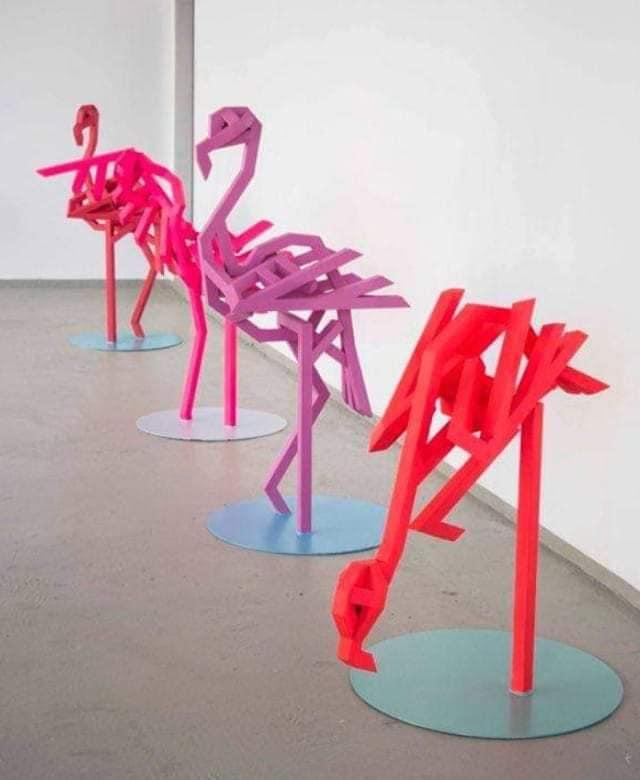 Paul Lässer Flamingos