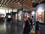 Le stand de la galerie Gabel à Art Up Lille