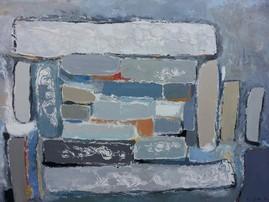 Анн Гаель Арно ,картина, написанная маслом,65X100-Биот -художественная галерея-Лазурном Берегу Франции