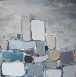Анн Гаель Арно картина, написанная маслом-Биот -художественная галерея-Лазурном Берегу Франции