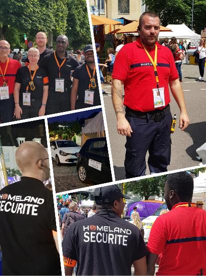 homeland secure agence agent de securite surveillance alarme videosurveillance evenement foire