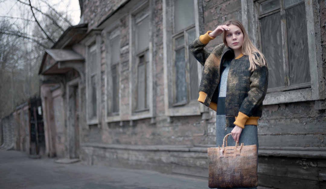 brand: ZoeBo, photographer: Andrey Zharov, model Elisaveta Burenkova