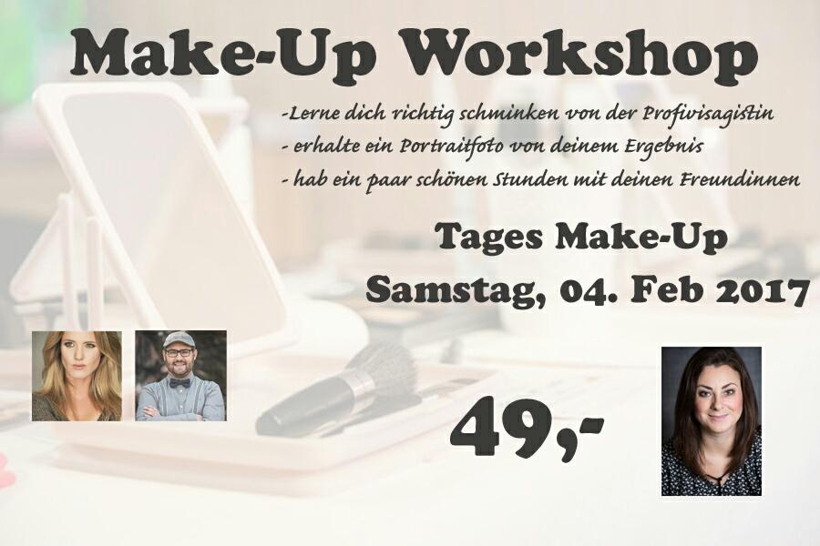 Schmink Workshops mit Portraitfoto
