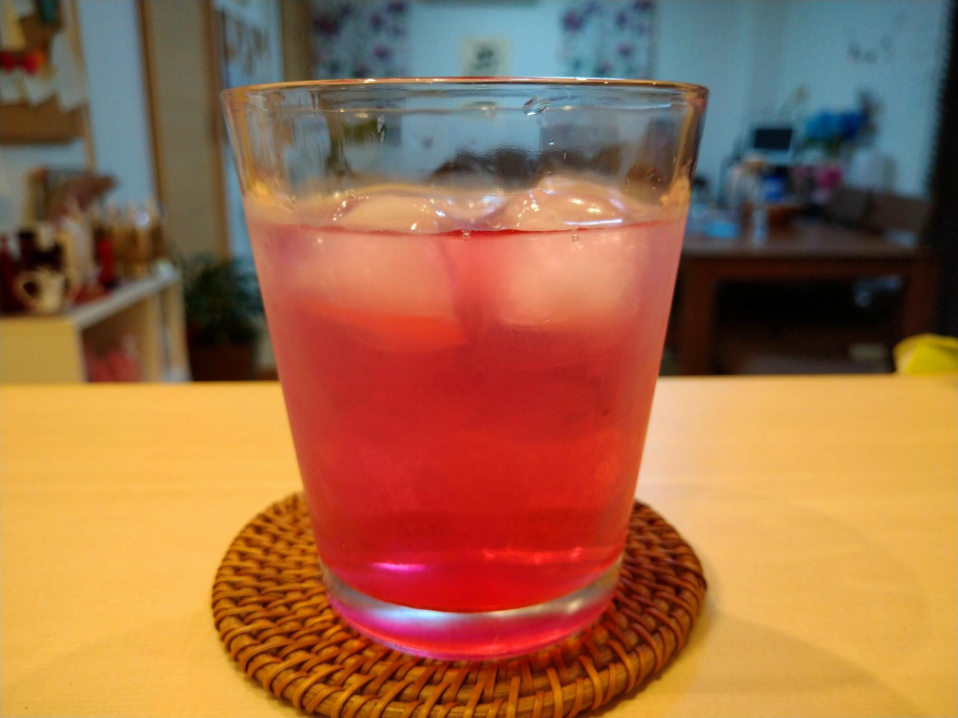 赤紫蘇ジュース🍹