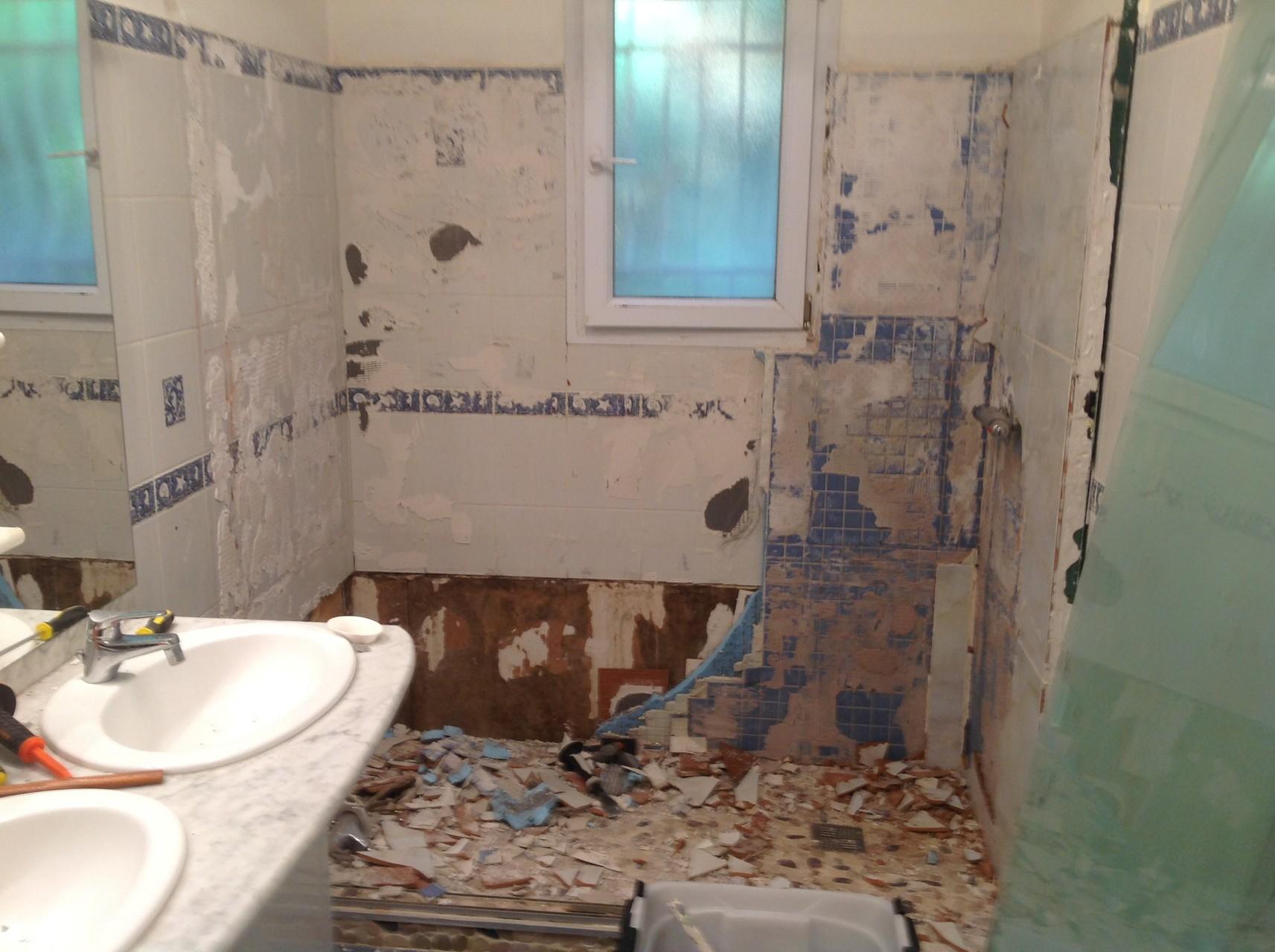 salle de bain fa ences carreleur b ziers eric sanjuan. Black Bedroom Furniture Sets. Home Design Ideas