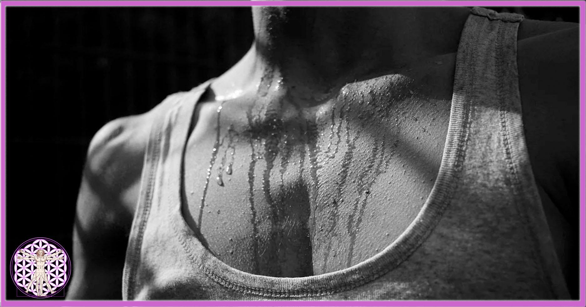Schwitzen und Körpergeruch