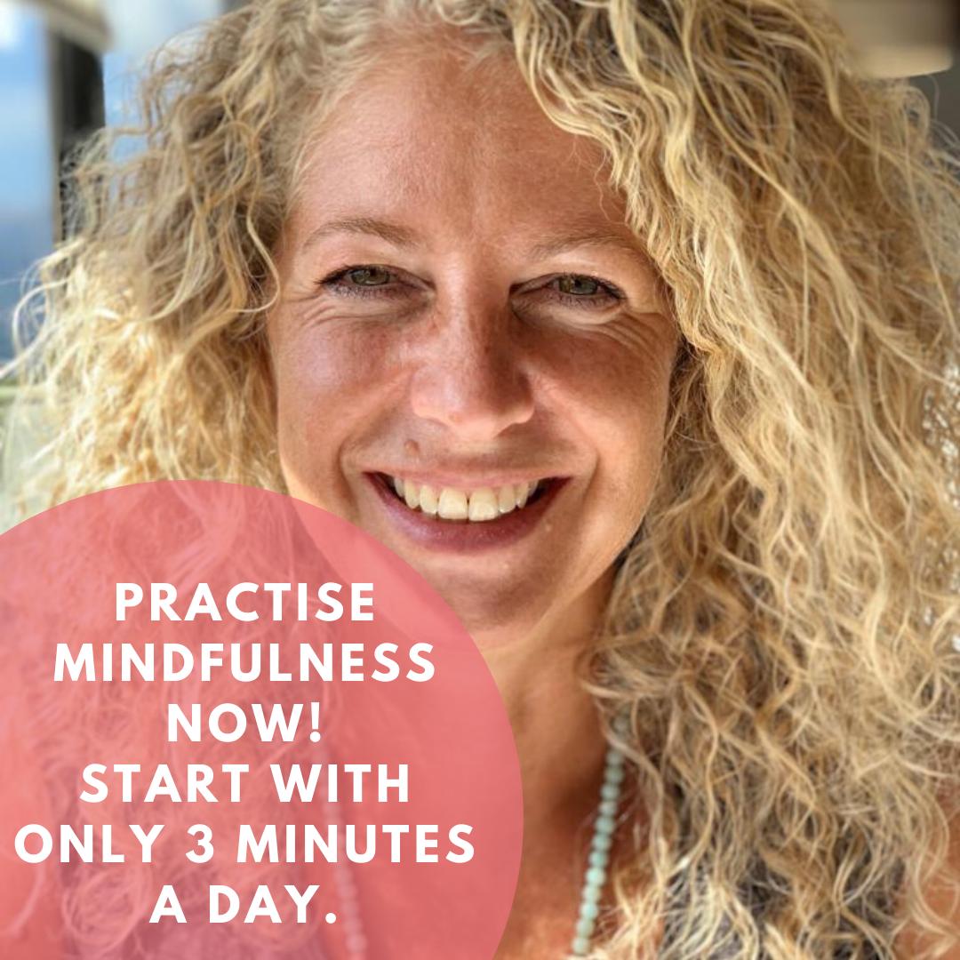 3 Minuten Mindfulness Challenge - 1. Woche