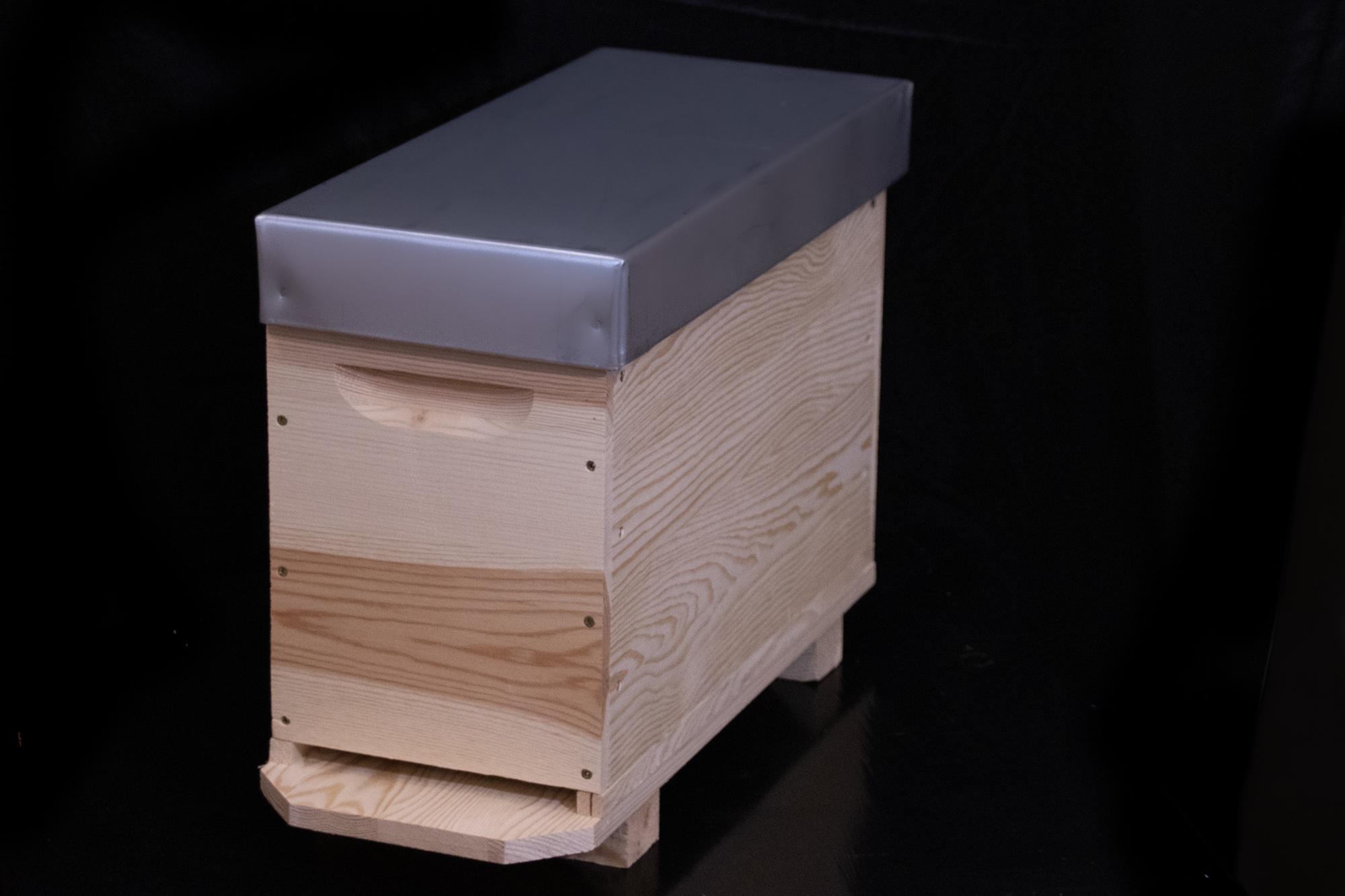 Ruchettes en bois, ruchettes en polystyrène, ruchettes vitrée, ruchettes carton