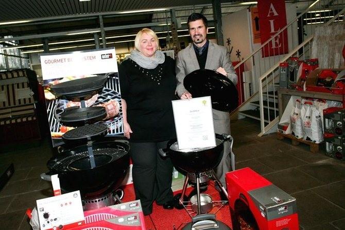Garten Center Newels aus Münster wurde mit dem Zertifikat der Qualitäts- und Serviceroute Münsterland ausgezeichnet