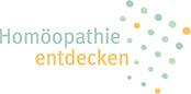 Logo mit Link Homöopathie entdecken