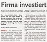 Zeitungsartikel Deister Anzeiger 04/12