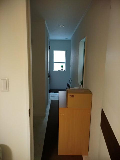 玄関を入って奥が、ホテルのお部屋です。