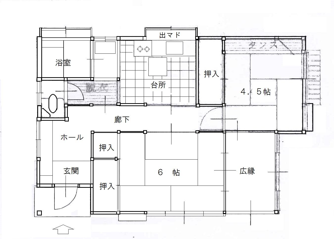 建物 間取り図