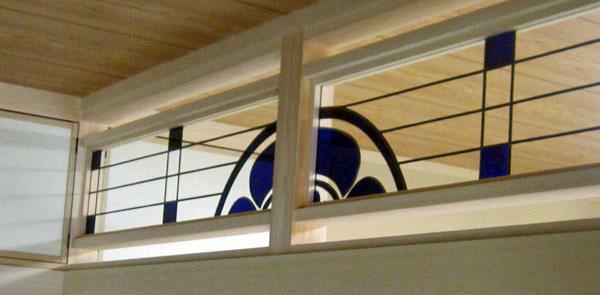 家紋のステンドグラス