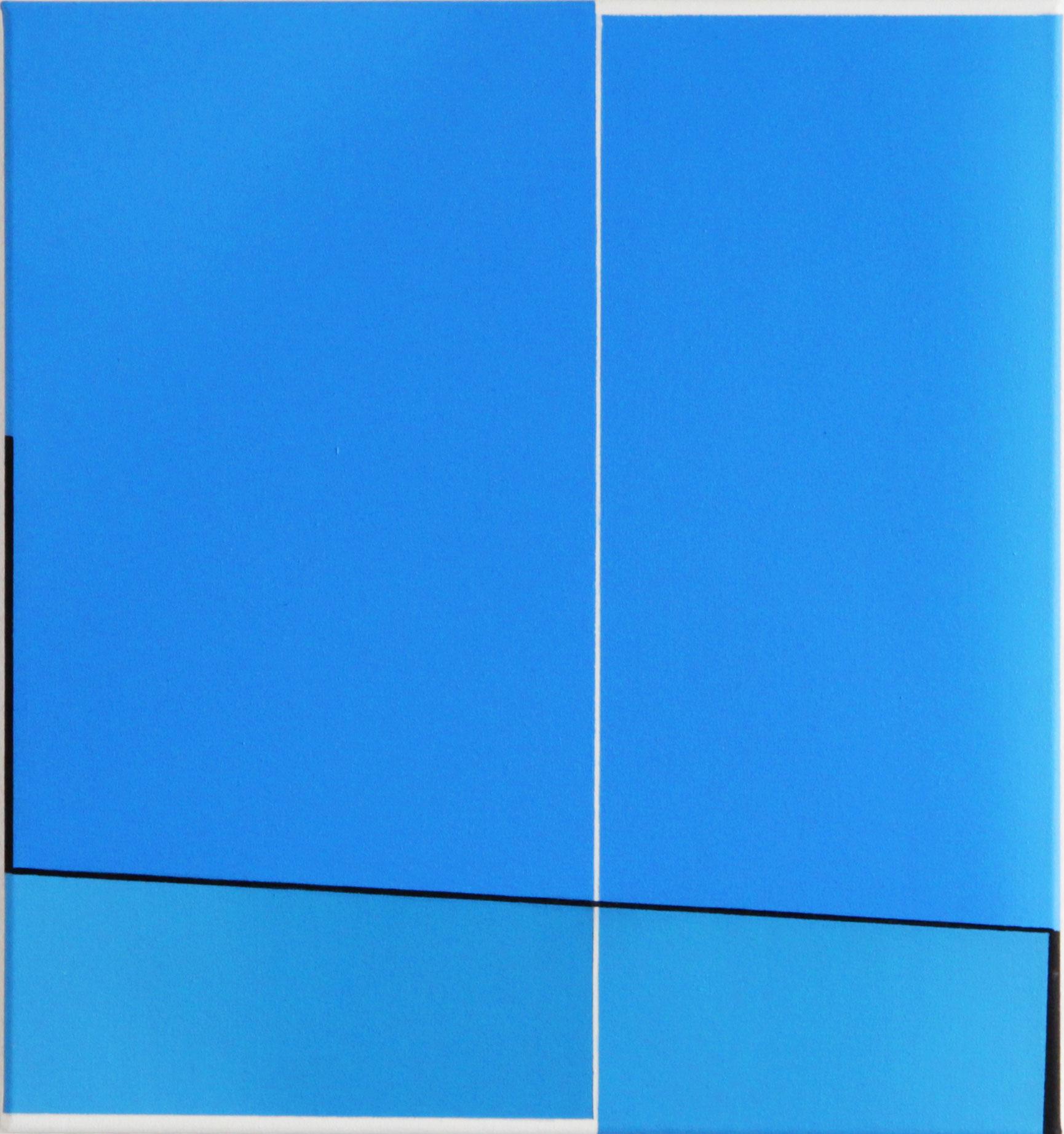 Daniel Hörner, Haken I, 48 x 45 cm, Öl auf Leinwand, 2014