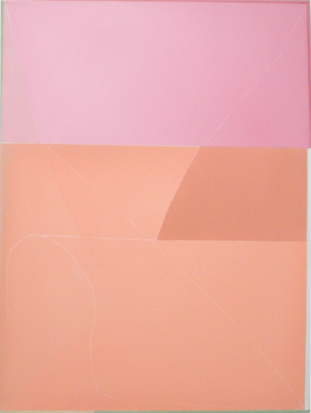 Daniel Hörner, o.T., 70 x 51 cm, Öl auf Leinwand, 2014