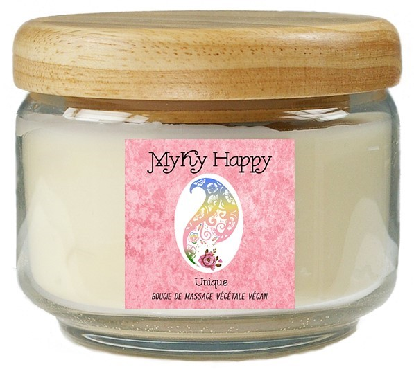 Bougie de Massage Pop Candle Bougie de Massage Myky Happy Veggie