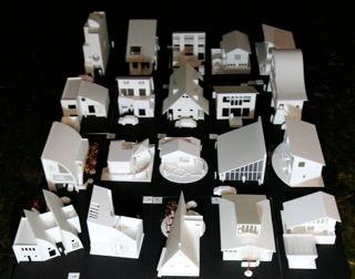 建築プロジェクト模型