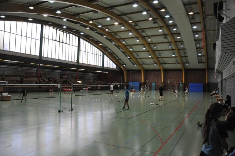 Sporthalle des Staufenbergcup in Heilbronn