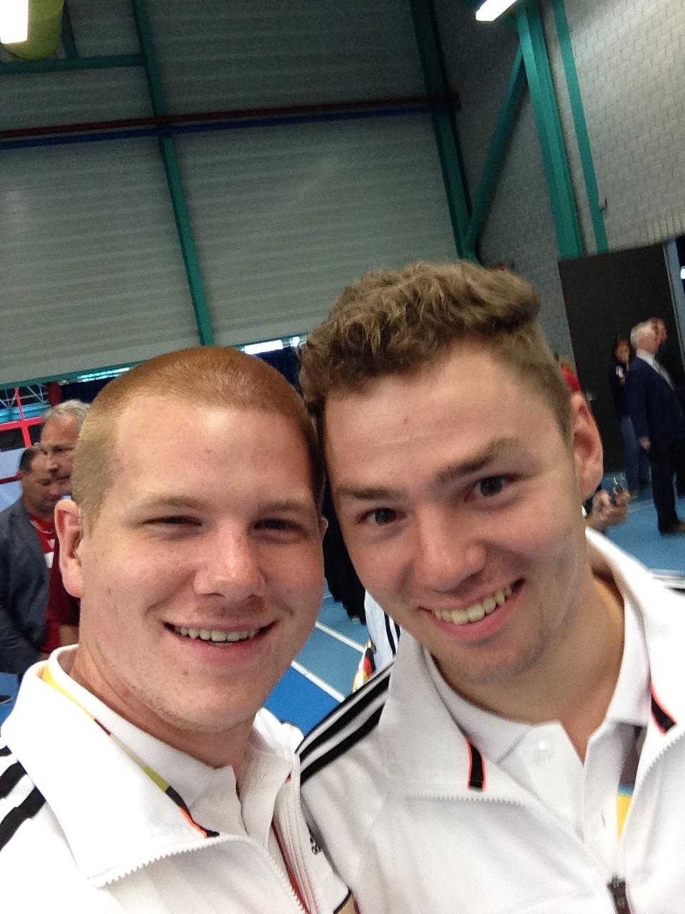 Matthias und Michi