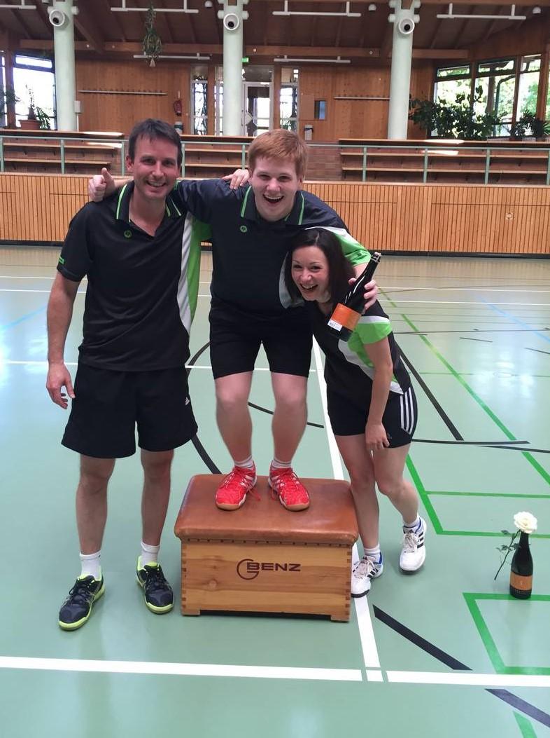 Siegerehrung VfL Vereinsturnier 1. Platz Matthias Kroll