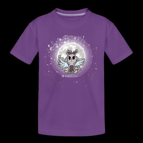 "Junior Designer, Kids/Teens T-Shirt, ""Mondtraum"", lila"