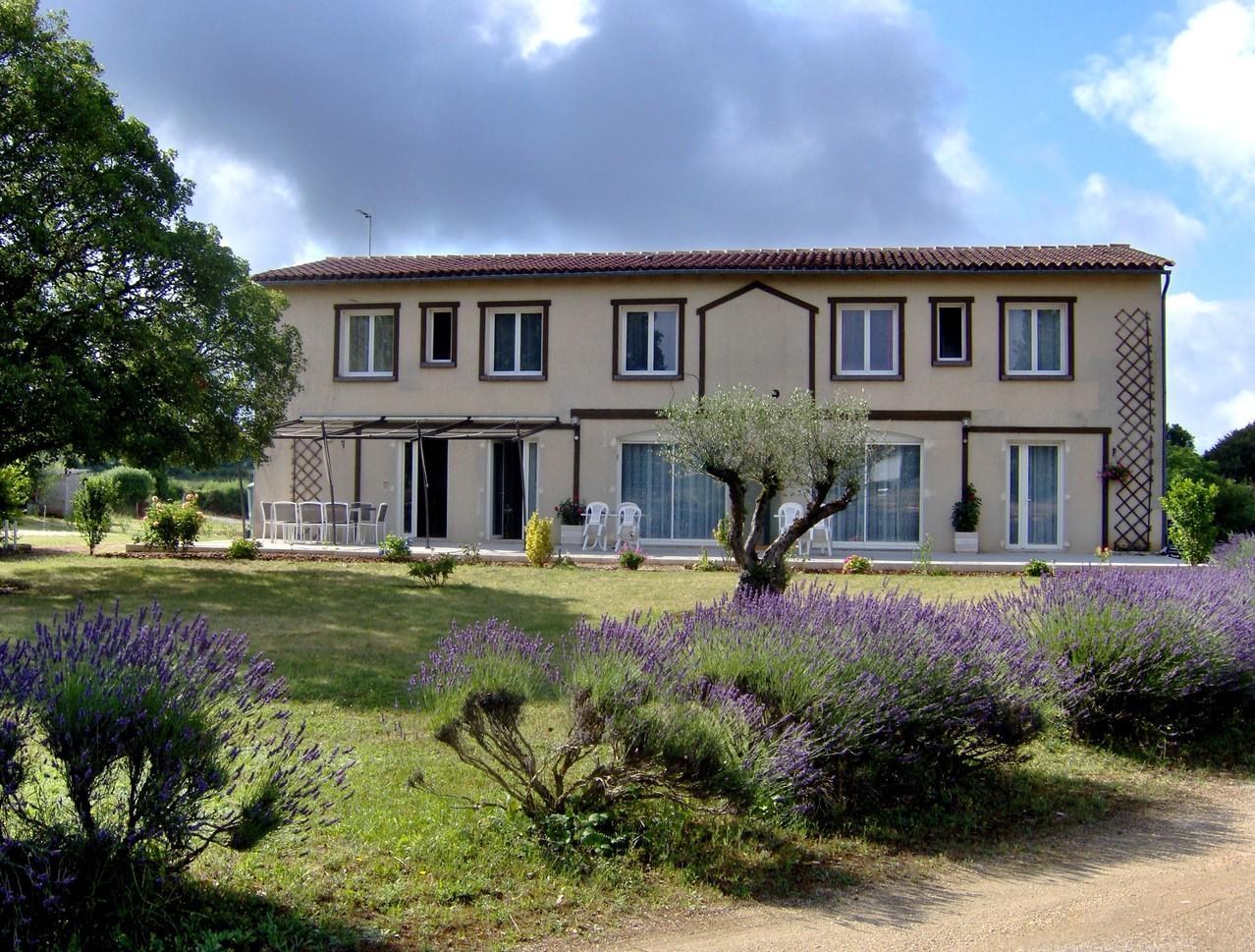 """Notre maison d'hôtes """"Les Lavandes"""" à Rocamadour"""