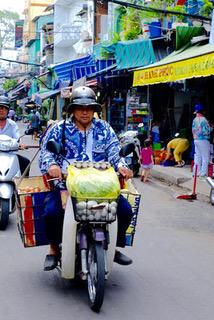 Ho-Chi-Minh-City, die Stadt der hervorragenden Motorrollerfahrer