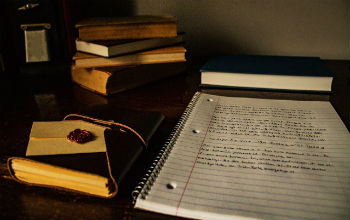 Livre et carnet de notes