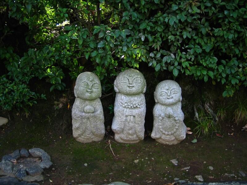 ◆京都嵯峨野のお地蔵さま