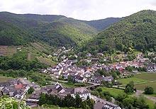 Weindorf Rech an der Ahr