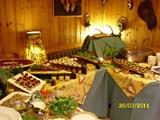 Wild Buffet im Jagdhaus Rech. Wildsoezialitäten, regionale Produkte und Ahrweine