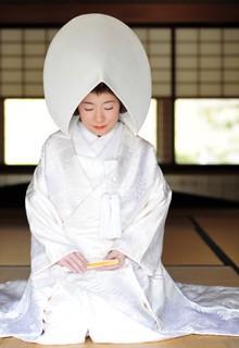 Abb.: Japanische Braut. Foto: Paul Synnott. Rautenstrauch-Joest-Museum.