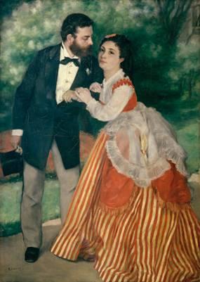Ehepaar Sisley von Auguste Renoir, 1912