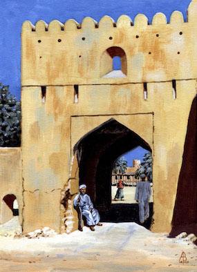 ABGC/21 - Village gateway, Oman