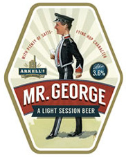 Label for new beer, March 2014. Commissioned by Arkell's Brewery.