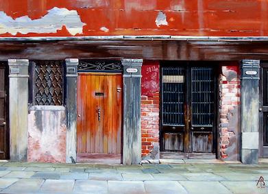 ABGC/27 - Old Venetian doors
