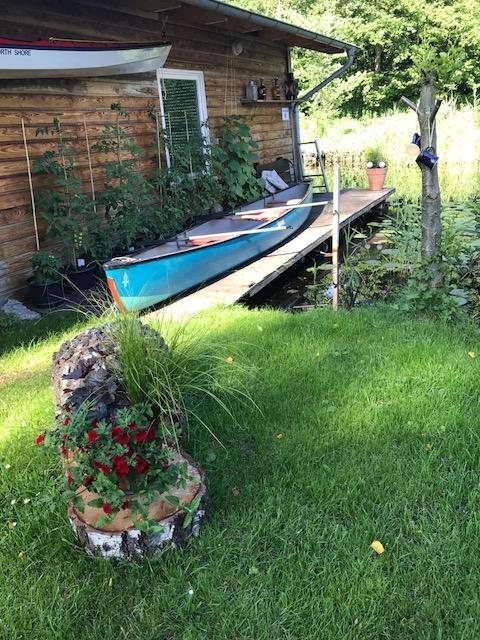 Ferienhaus, Wasser, Mecklenburgische Kleinseenplatte, Finnhütte, A-House,Urlaub