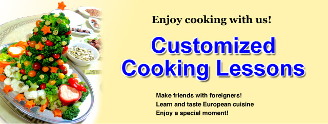 Customized Cooking Lessons